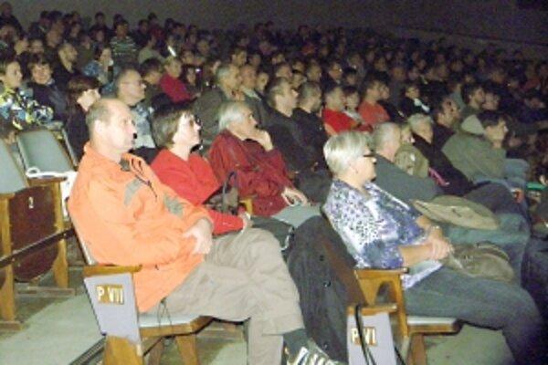Festival prilákal oveľa viac divákov ako v minulom roku.