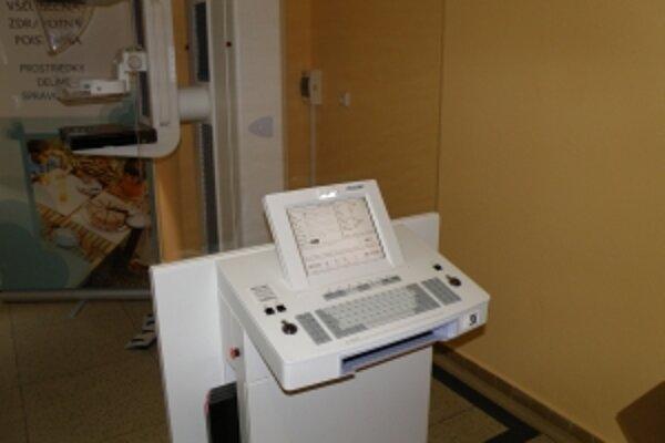 úpou nového mamografu kraj vyriešil dlhodobý problém nekvalitného prístroja.