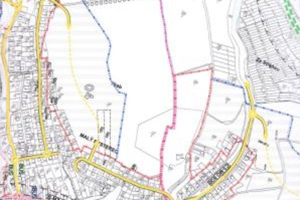 Pôvodný návrh počítal s tromi cestami, neskôr pribudla štvrtá.