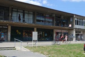 Nákupné centrum Centrál. Je na ňom potrebná rekonštrukcia.