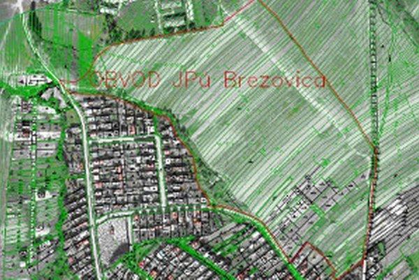 Obvod jednoduchých pozemkových úprav.