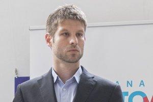 Podpredseda Progresívneho Slovenska Michal Šimečka.
