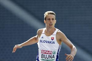 Šimon Bujna sa venuje atletike len pätnásť mesiacov. Predtým hrával Futbal.