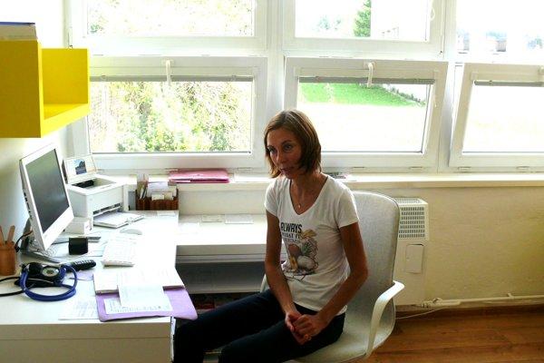 Lekárka Andrea Bošelová vždy chcela pracovať na dedine. Oproti mestu je na vidieku rodinnejšia atmosféra.