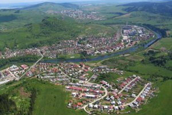 Letecký pohľad na Nižnú.