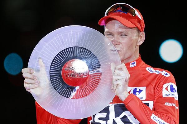 Minulý rok si červený dres pre víťaza Vuelty prebral Brit Christopher Froome.