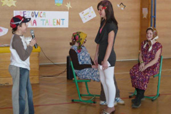 Brezovickým školákom nechýba herecké nadanie.