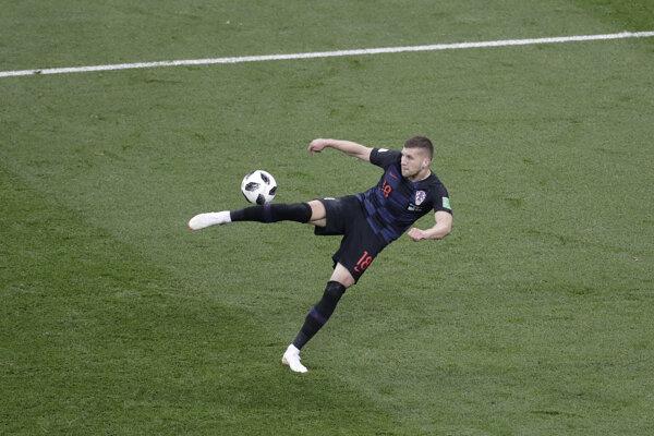 Ante Rebič v reprezentačnom drese Chorvátska.