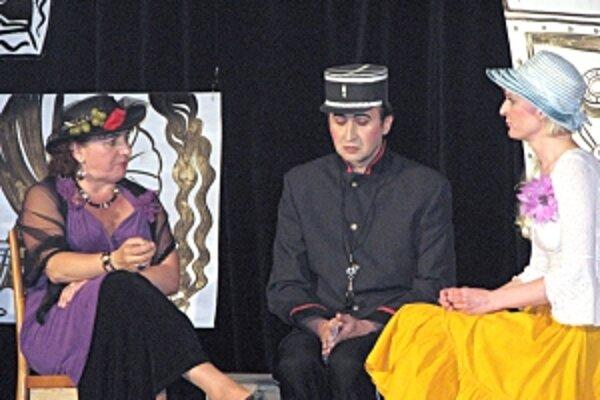 V hre sa predstavili aj herci zo Stupného.