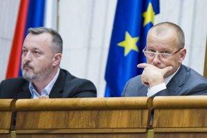 Milan Krajniak (Sme rodina) a predseda hnutia Sme rodina Boris Kollár.