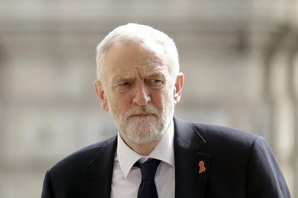 Britský opozičný líder Jeremy Corbyn.