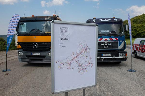 Začiatok tohtoročných opráv ciest v Trenčianskom samosprávnom kraji.
