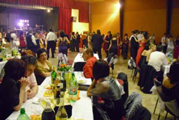 Na plese v Oravskej Jasenici.