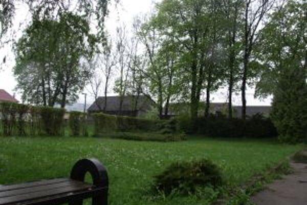 Farská záhrada.