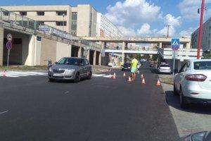 Starohájska je už opravená, pribudol nový asfalt.