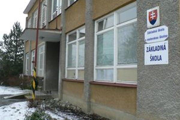 Škola v Žaškove sa bude rekonštruovať za stotisíc eur.