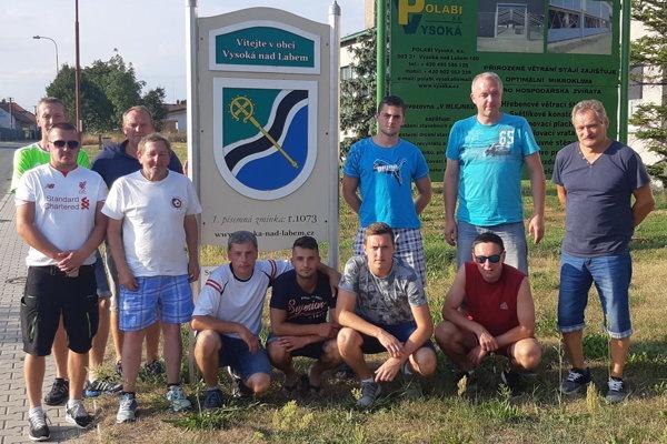 Mužstvo z Vysokej nad Kysucou.