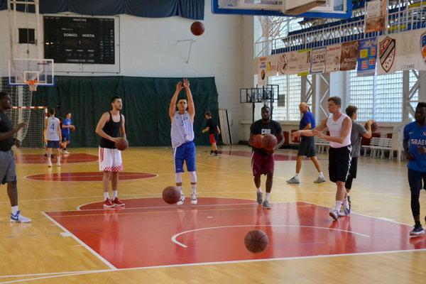 Z tréningu BKM Lučenec.