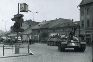 Príchod okupačnej armády do Brezna.