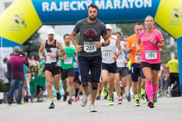 Tento rok sa Rajeckého maratónu zúčastnilo 1300 športovcov.