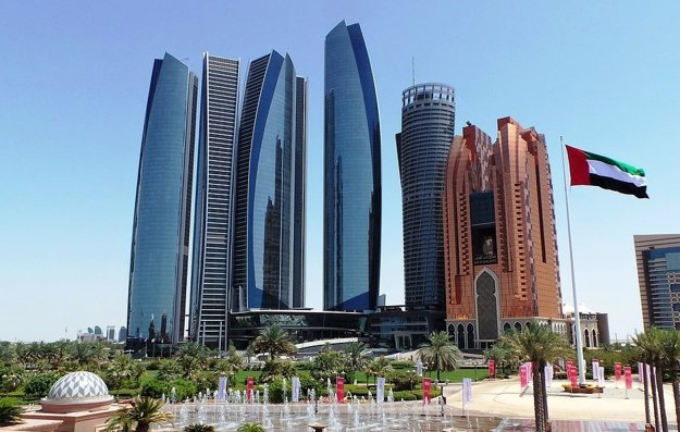 Abu Dhabi, mesto.
