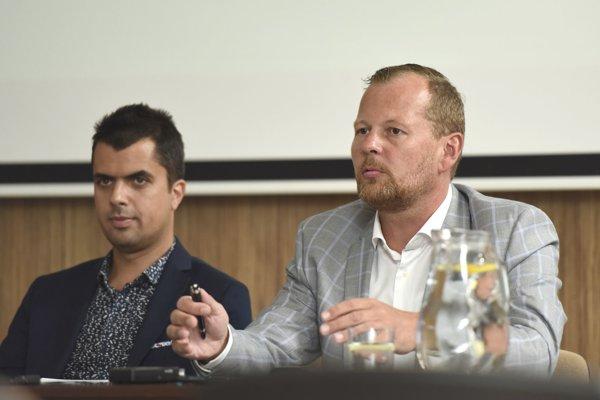 Marián Galbavý (vpravo) a Matej Lančarič.