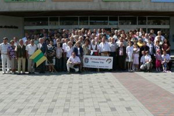 Kováčikovci z celého Slovenska sa tentoraz stretli v Dolnom Kubíne.