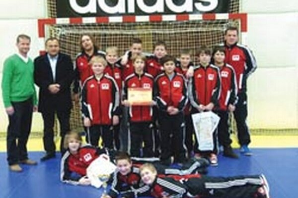Mladší žiaci Topoľčian vyhrali domáci turnaj československej ligy.