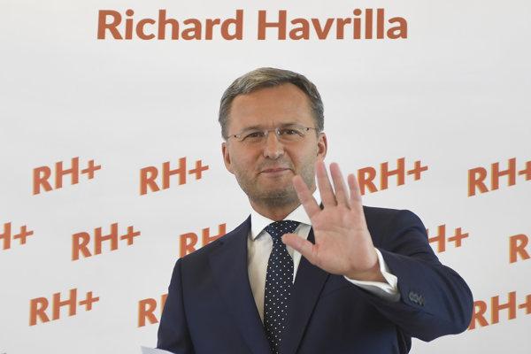 Na snímke kandidát na primátora Košíc Richard Havrilla.