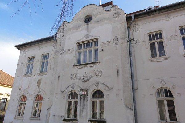 Budova bývalého Červeného kríža.