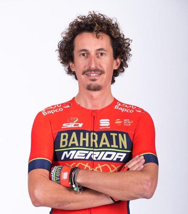 Franco Pellizotti, cyklista, tím Bahrain-Merida