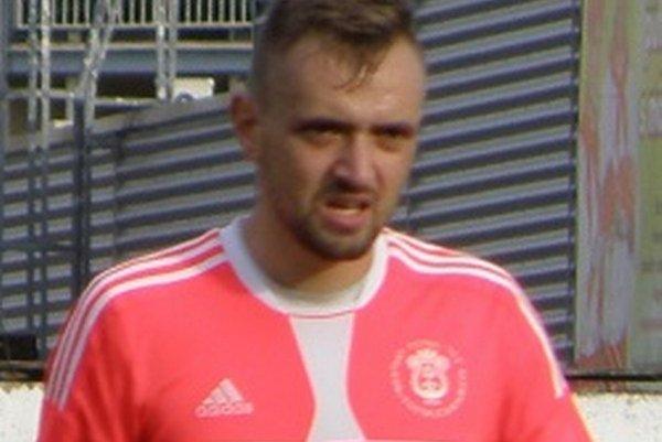 Úspešný strelec Martin Rusinko.