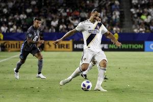 Zlatan Ibrahimovič v drese LA Galaxy.