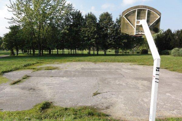 Workhout park vyrastie na mieste streetballového ihriska.