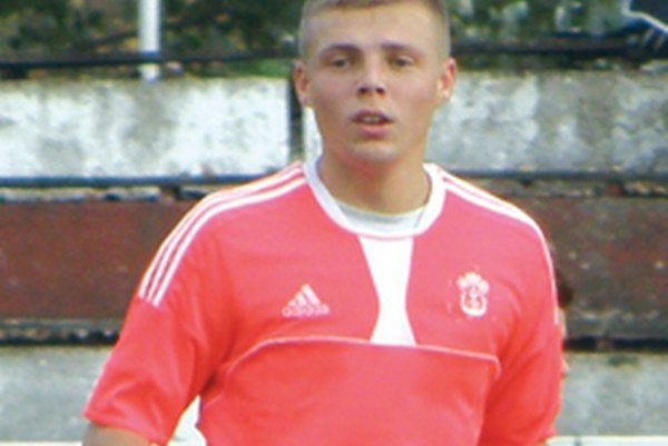 Autor víťazného gólu - Marek Švajlen.