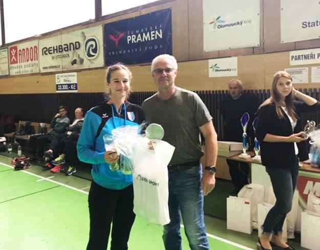 Najlepšou strelkyňou turnaja sa stala 18-ročná Natália Némethová.