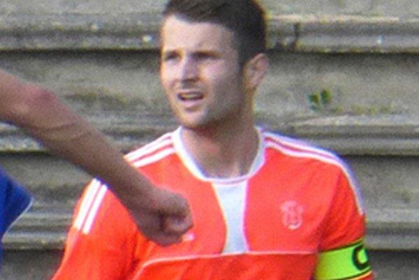 Lukáš Remeň bol kapitánom Topoľčian v sobotnom zápase.