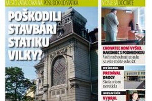 MY Topoľčianske noviny Dnešok vyjdú v stredu.
