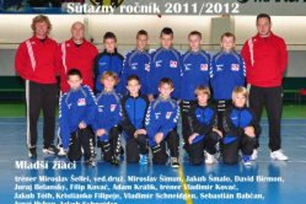 Mladší žiaci vyhrali československú ligu.