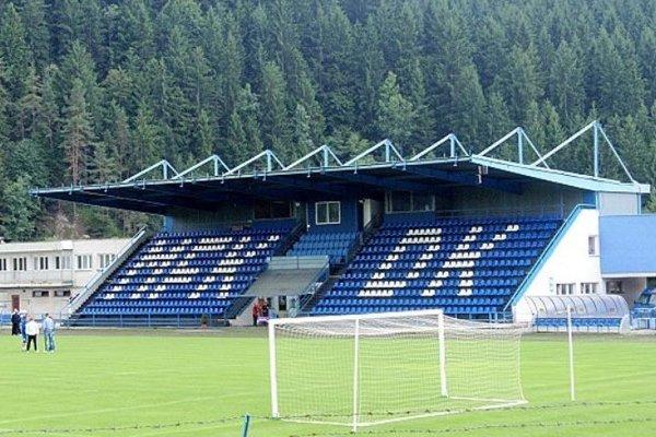 Futbalový štadión v Dolnom Kubíne.