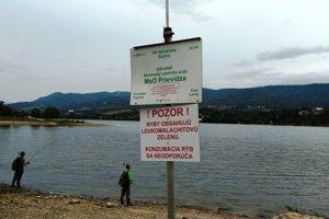 Odborníci v tejto chvíli neodporúčajú konzumáciu rýb z VN Nitrianske Rudno.
