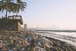 Mumbai a jeho pláže.
