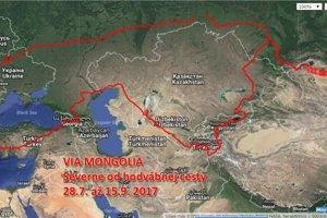 Via Mongolia Petra Katreniaka.