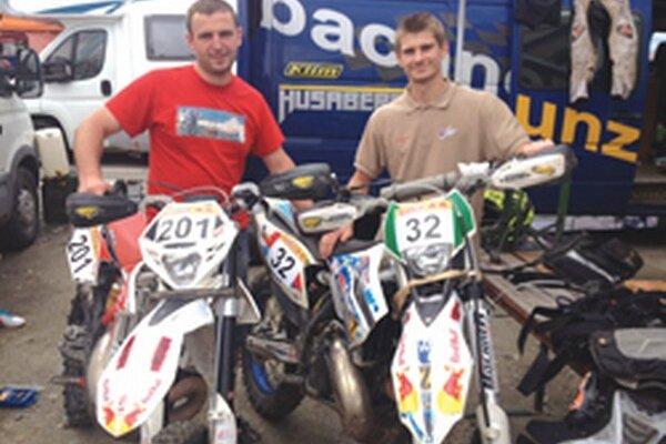 V Rumunsku - zľava Rastislav Hanuš a Thomas Hostinský.