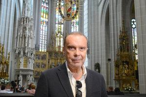 Štefan Margita v košickom Dóme.