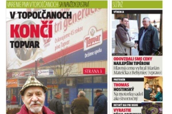 Práve vychádza nové číslo MY Topoľčianskych novín.