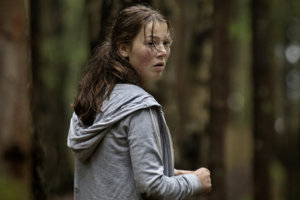 Andrea Berntzen ako Kaja, hlavná hrdinka filmu Utøya.