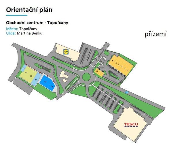 """Vizualizácia. Nové obchodné centrum sa bude nachádzať v """"jame"""" oproti Lidlu. Bude mať charakter obchodnej galérie."""