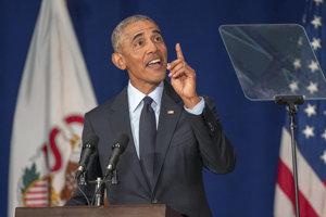 V prejave pred študentmi Illinoiskej univerzity Obama uviedol, že Republikánska strana sa zmenila a v priebehu niekoľkých desaťročí dospela k rozčleneniu, pocitom krivdy a paranoji.
