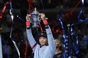 Naomi Osaková - víťazka US Open 2018.